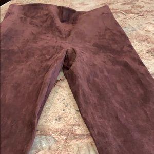 Vince Suede Wine Color Pant